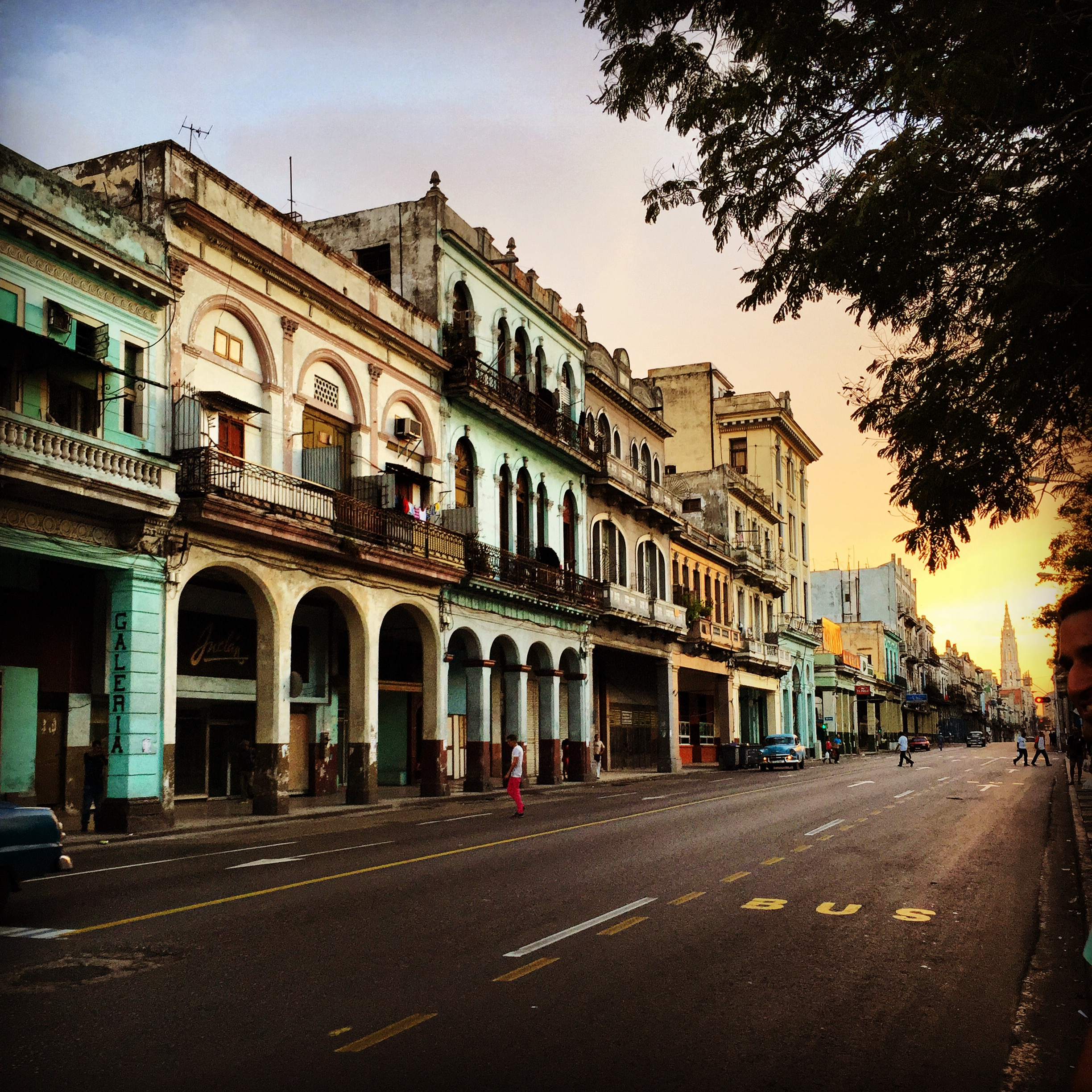 Sunset in Centro Habana