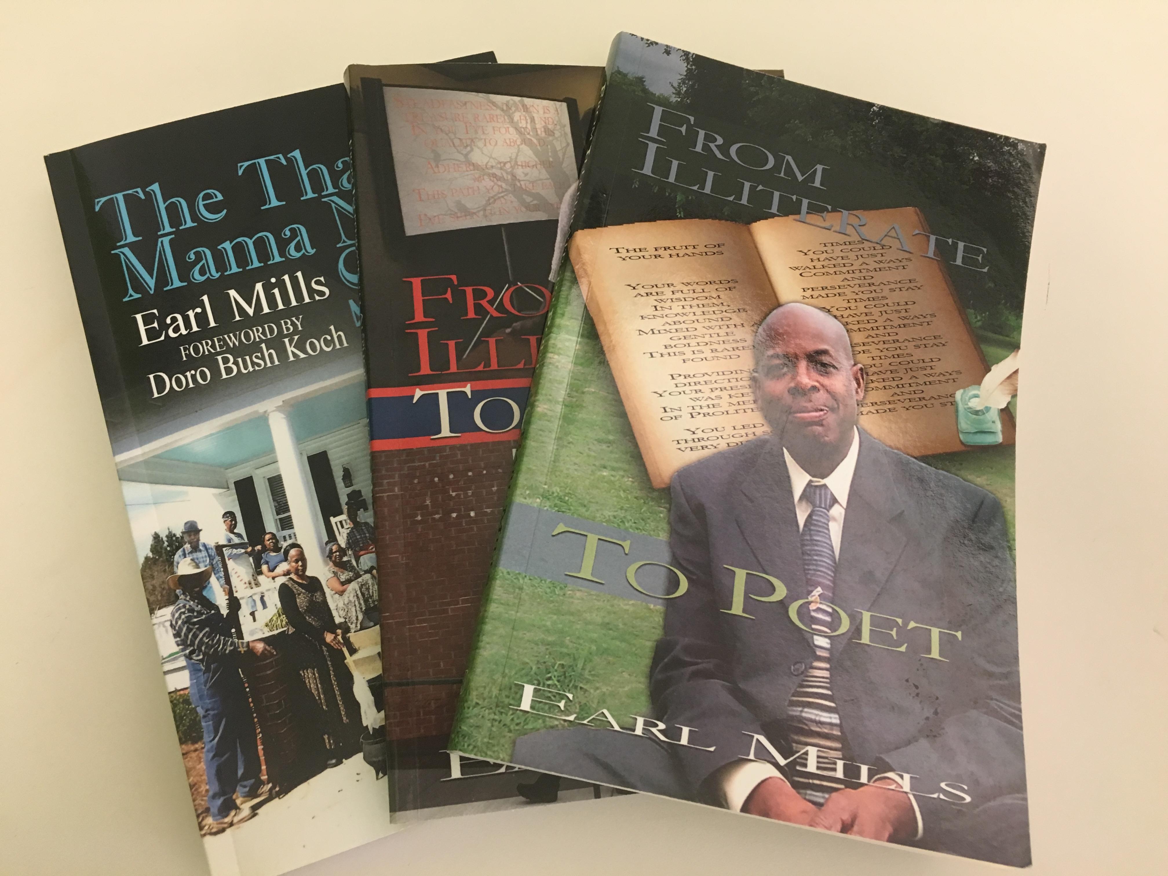 Earl Mills - books
